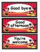 Mickey and Minnie nice words