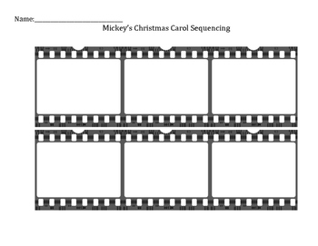Mickey's Christmas Carol Activities