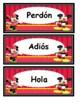 Mickey y Minnie bellas palabras