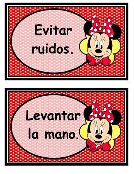 Mickey y Minnie reglas