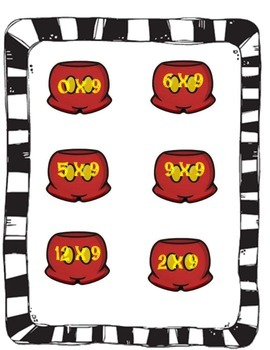 Mickey's Multiplication  Nines (9) Game
