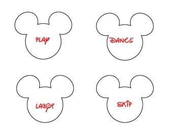 Mickey's Word Find :Nouns and Verbs