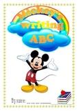 Mickey's writing ABC
