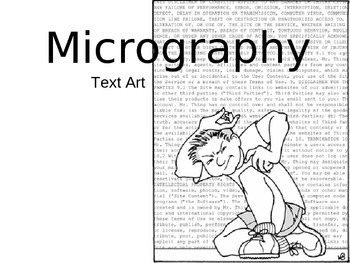 Micography in Art