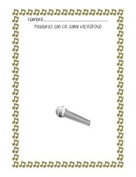 Micrófonos y Clarinetes-Silabas Trabadas con CR y CL