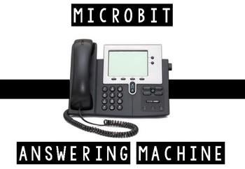 Micro:Bit - Microsoft Computer Programming - Answering Machine (Beginners)