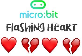 Micro:Bit Microsoft Computer Programming - FLASHING HEART LESSON (Beginners)