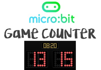 Micro:Bit Microsoft Computer Programming - GAME COUNTER LESSON (Beginners)
