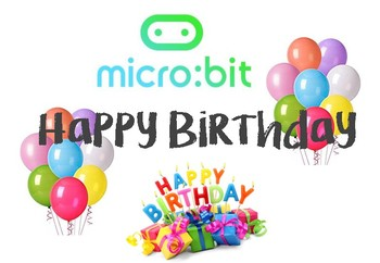 Micro:Bit Microsoft computer Programming - HAPPY BIRTHDAY (Beginners)