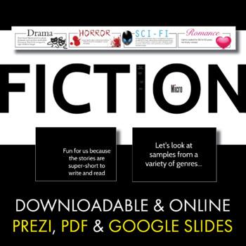 Micro Fiction, Creative Writing Fun for Teens, Narrative Writing, Sub Plan,  CCSS