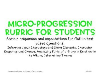 Micro-Progression Rubric Fiction #1