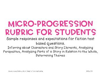 Micro-Progression Rubric Fiction #4