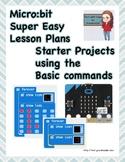 Micro:bit Super Easy Beginner Exercises