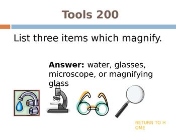 Micro to Macro Jeopardy (biology, living things)