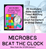 Microbes Beat the Clock Game!