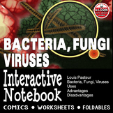 Microbes Interactive Notebook