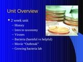 Microbiology - Pasteur, Linneaus, binomal nomenclature, viruses