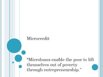 Microcredit 101