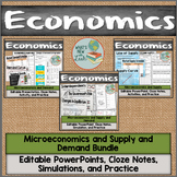 Microeconomics Demand, Supply, and Supply and Demand Bundle