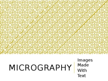 Micrography Portrait PowerPoint
