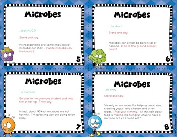 Microbes Causation Cards
