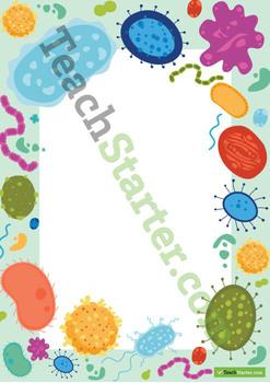 Microorganism Page Border