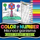 Microorganisms - Color by Number