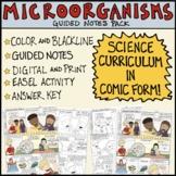 Microorganisms Comic (Vintage)