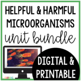 Microorganisms {Lesson, Interactive Notes, Lab, Internet Activity}