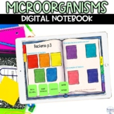 Microorganisms Digital Notebook Activity for Distance Learning