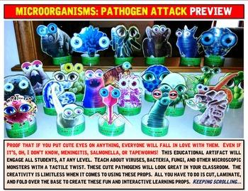 Microorganisms: Pathogen Attack