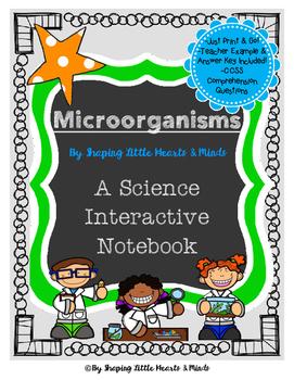 Microorganisms- Science Interactive Notebook & Journal