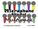Microphone Clip Art Multipack