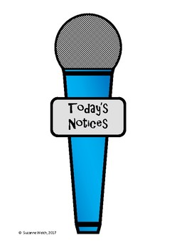Microphone (Freebie) - Today's Notices