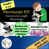Microscope 101 - How to Use a Light Microscope {Editable}
