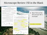Microscope CLOZE Activity