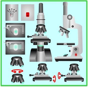 Microscope Clipart