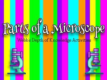 Microscope Depth of Knowledge Activities