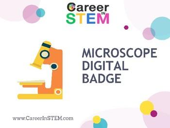 Microscope Digital Badge