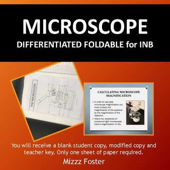 Microscope Foldable for INB