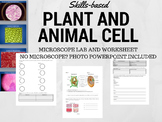 Skills-based Plant and Animal Cell Lab (No Microscope? Photo slides included!)