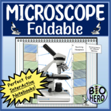 Microscope InterActive Notebook Foldable
