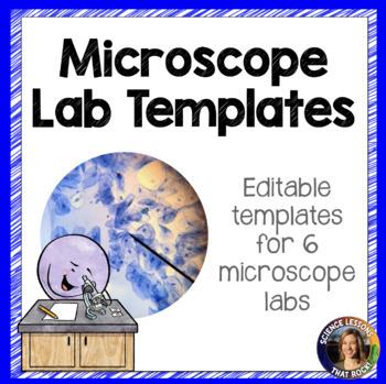 Microscope Lab Templates