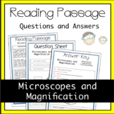 Microscope Label and Magnification Worksheet Activity