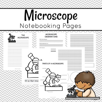 Microscope Notebooking Pages