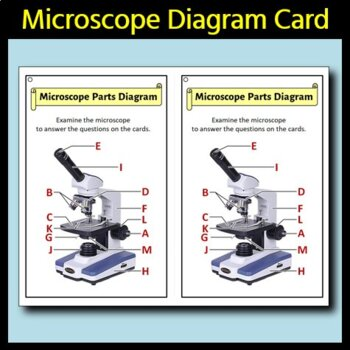 Microscope - Task Cards {With Editable Template}