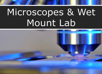 Microscope Parts & Wet Mount LAB