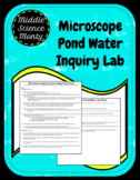 Microscope Pond Water Inquiry Lab