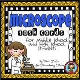 MICROSCOPE Task Cards for Middle and High School Biology Life Science