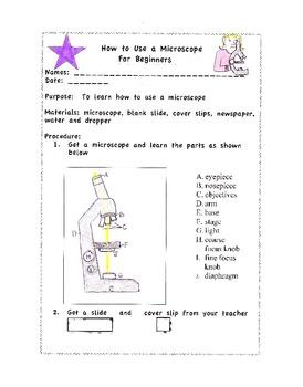 Microscope for Beginners